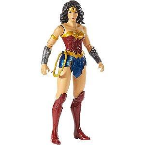 Boneca Liga da Justiça Mulher Maravilha True Moves - Mattel