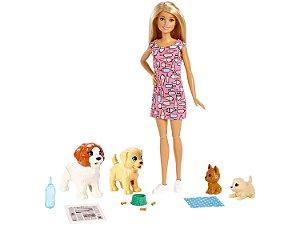 Boneca Barbie Treinadora de Cachorrinhos - Mattel