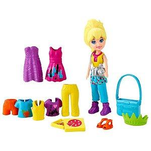 Boneca Polly Pocket Passeio em Nova Iorque - Mattel