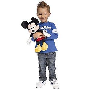 Pelúcia Mickey Disney com Som 32 Cm - Nicotoys