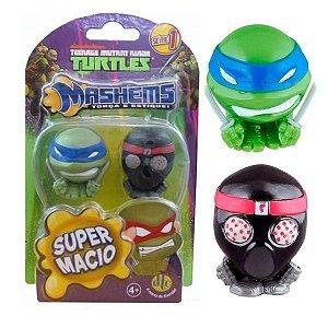 Miniaturas Colecionaveis Tartarugas Ninjas Mashems - DTC
