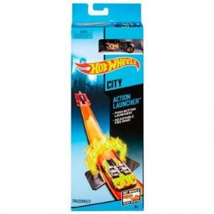 Pista Hot Wheels Super Chamas Launcher - Mattel
