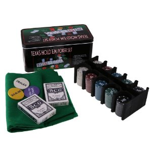 Jogo Poker Set Texas Hold´ Em - Tomix