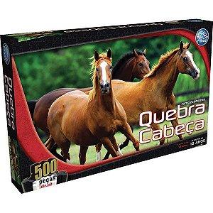 Quebra Cabeças Cavalo 500 Peças - Pais & Filhos