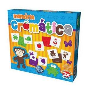 Jogo da Memória Cromatica - Pais & Filhos