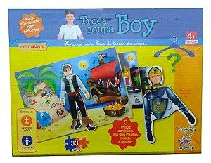 Troca de Roupas Boy - Brincadeira de Criança