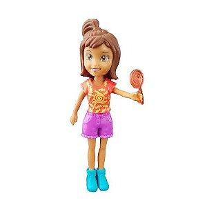 Boneca Polly Pocket Shani Pirulito - Mattel