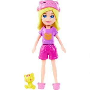Boneca Polly Pocket Pijama - Mattel