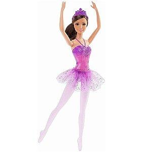 Boneca Barbie Conto de Fadas Bailarina Roxa - Mattel