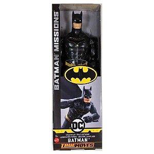 Boneco Batman Missions Traje Noturno - Mattel