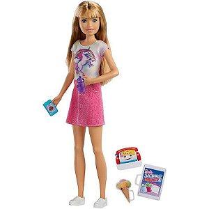 Boneca  Barbie Skipper Babysitter Loira- Mattel