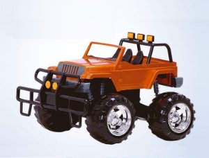 Jeep Road Foot - Super Toys