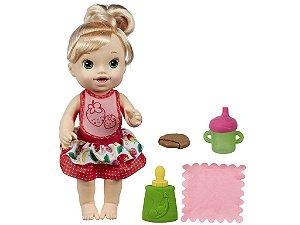 Baby Alive Meu Lanchinho Loira com Acessórios - Hasbro