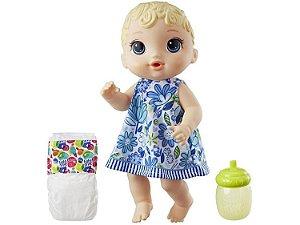 Boneca Baby Alive Hora do Xixi Loira com Acessórios - Hasbro