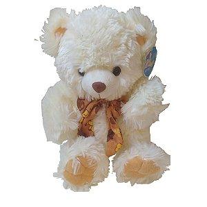 Urso de Pelúcia Musical com Cachecol 38 cm - Mundi Toys