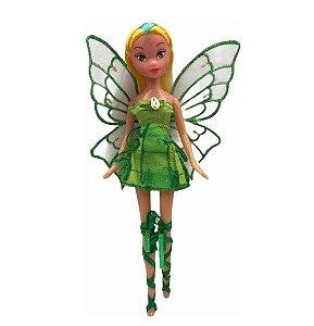 Boneca Fada Encantada Verde - Fenix
