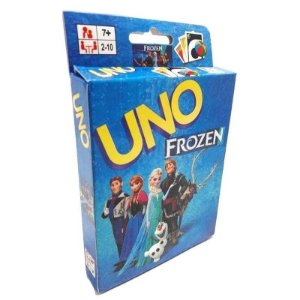 Jogo De Cartas Uno Frozen