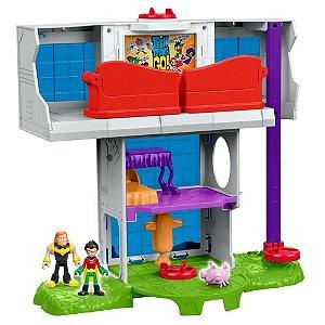 Imaginext Torre dos Jovens Titans - Mattel