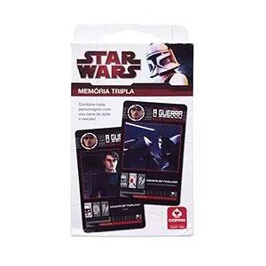 Jogo da Memória Tripla -Star Wars - Copag