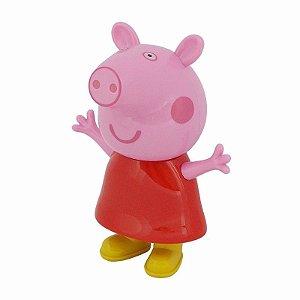 Caixa Som Infantil Portatil Peppa Pig Radio MP3 FM SD USB