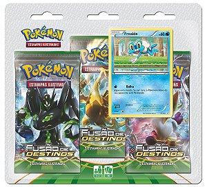 Triple Pack Pokémon Cards XY Fusão de Destinos Froakie - Copag