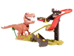 Pista Hot Wheels Ataque do T-Rex - Mattel