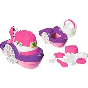 Barco de Praia Menina - Merco Toys