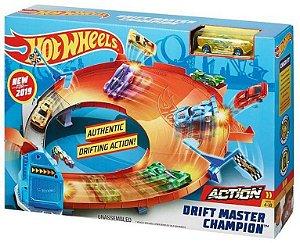 Pista Hot Wheels Campeonato de Drifting - Mattel
