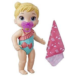 Boneca Baby Alive Bebê Banhos Carinhosos Loira - Hasbro