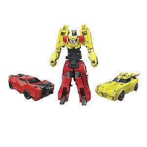 Transformers Combiner Force Sideswipe Bumblebee - Hasbro