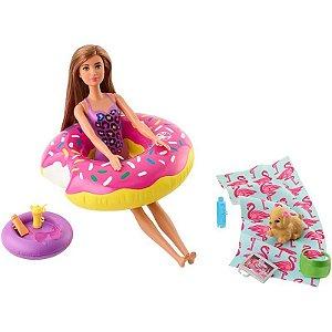 Móveis da Barbie Real Boia de Rosquinha - Mattel