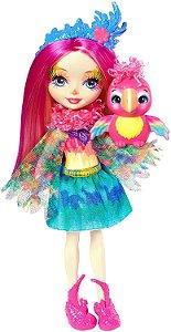 Boneca Enchantimals Bichinho Peeki Parrot & Sheeny - Mattel