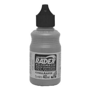 Tinta para Carimbo Automatic Preto Radex 40ml