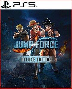 Jump Force Deluxe Ps5 Mídia Digital