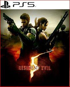 Resident Evil 5 Ps5 Psn Mídia Digital