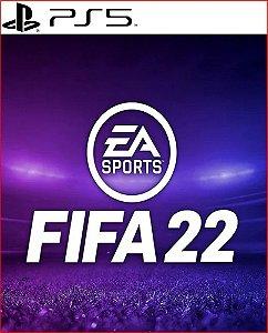 FIFA 22 Edição para PS5 - Mídia Digital