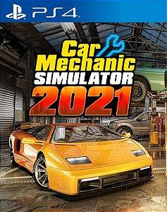 car mechanic simuator 2021 ps4 midia digital