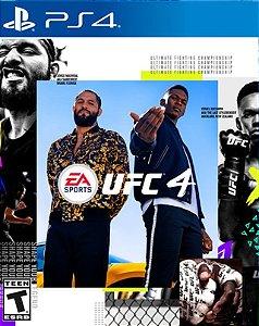 UFC 4 ps4 midia digital