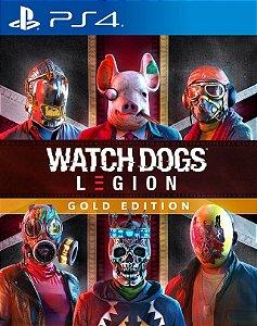 Watch Dogs®: Legion Gold Edition PS4 midia digital