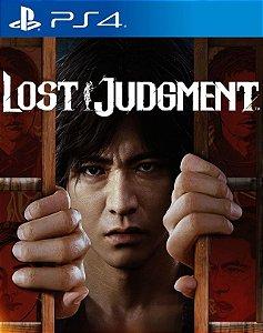 Lost Judgment PS4 & PS5