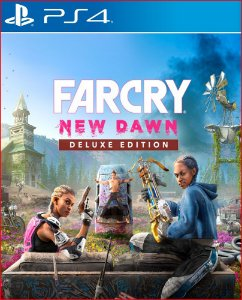 FAR CRY NEW DAWN DELUXE EDITION PS4 MÍDIA DIGITAL
