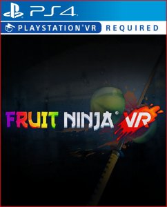 FRUIT NINJA VR PS4 PSN MIDIA DIGITAL