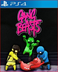 GANG BEASTS PS4 PSN MIDIA DIGITAL