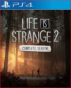 LIFE IS STRANGE 2 COMPLETE SEASON PS4 PSN PORTUGUÊS MÍDIA DIGITAL