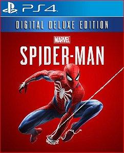 marvel's spider-man digital deluxe edition ps4 português midia digital