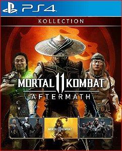 MORTAL KOMBAT 11 AFTERMATH KOLLECTION PS4 PSN PORTUGUÊS MIDIA DIGITAL
