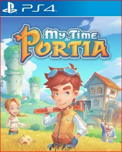 MY TIME AT PORTIA PS4 MIDIA DIGITAL