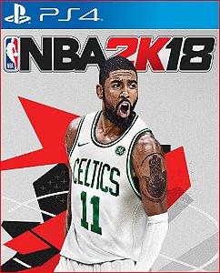 NBA 2K18 PS4 MÍDIA DIGITAL