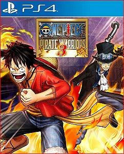 One Piece: Pirate Warriors 3 PS4 psn Mídia Digital