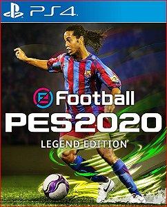EFOOTBALL PES 2020 LEGEND EDITION PS4 PORTUGUÊS PS4 MÍDIA DIGITAL